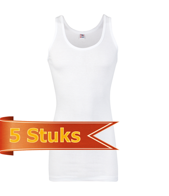 Heren Beeren ondergoed singlet Startex (5 stuks)