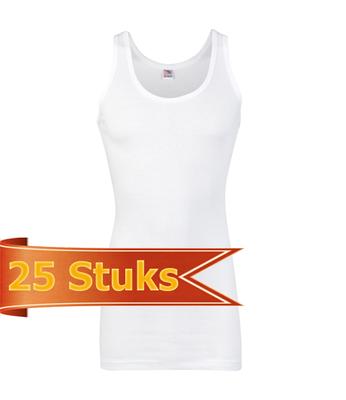 Heren Beeren ondergoed singlet Startex (25 stuks)