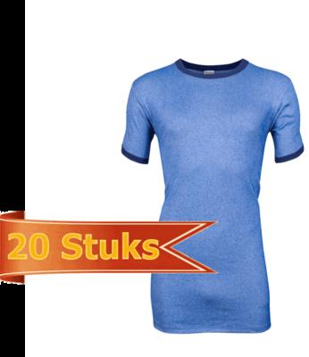 Heren Beeren hemd Korte mouw M2000 (20 stuks)